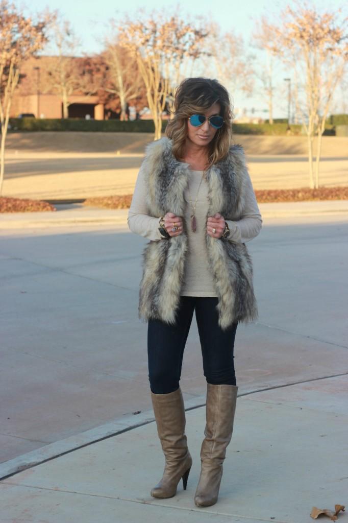 Target Fur Vest The OP Life