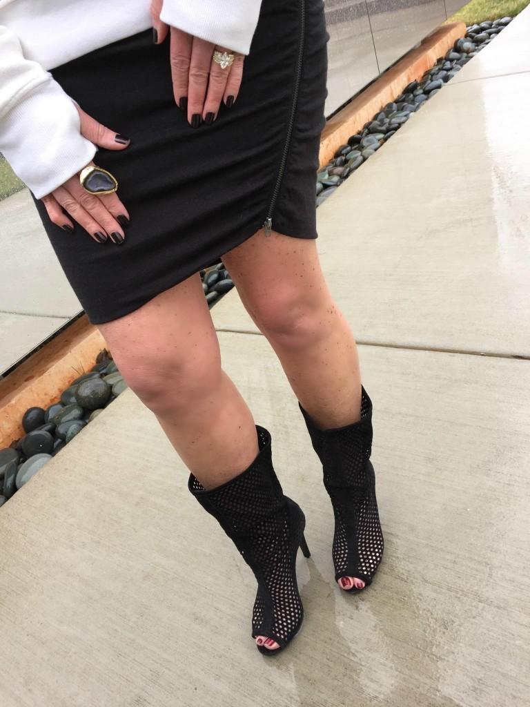 Pam and Gela Skirt Pedro Garcia booties