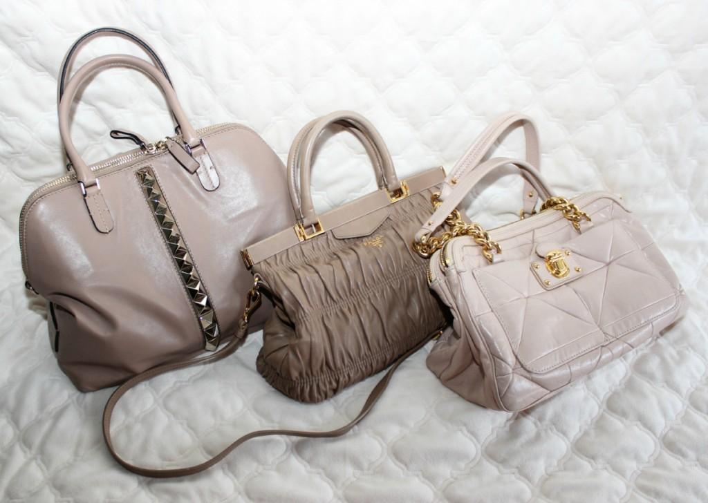 Blush Nude Bags