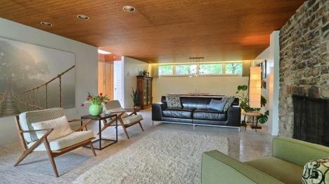 Mid-Century Modern Living Rooms