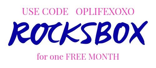 Rocksbox Coupon Code
