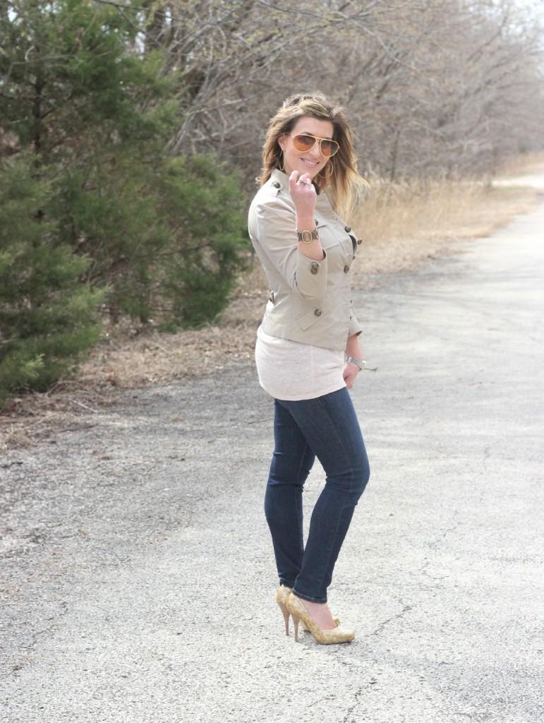 Nicole Miller Jacket Frame Jeans Giuseppe Zanotti pumps 2