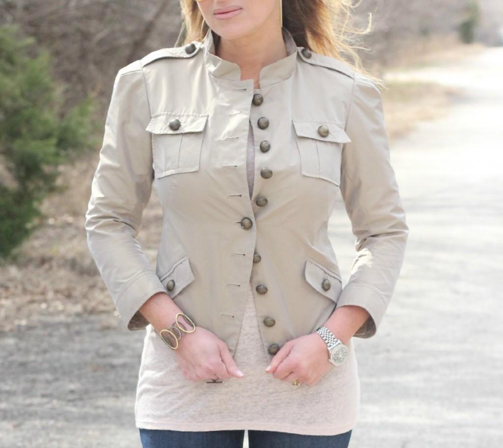 Nicole Miller Military Jacket