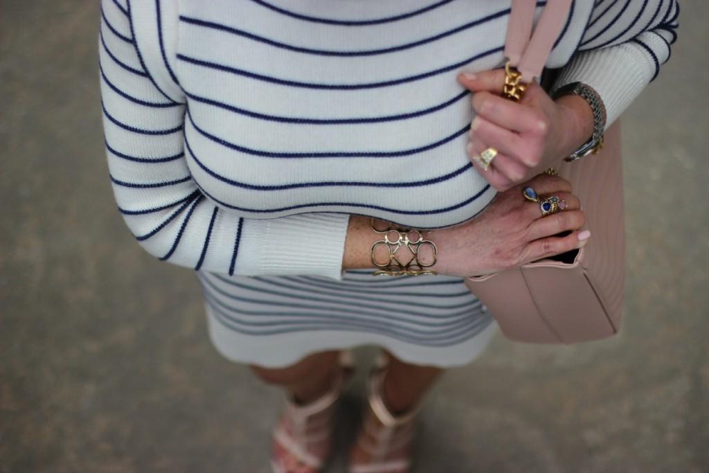 Summer Stripes Marc Jacobs Saint Laurent Tote 4