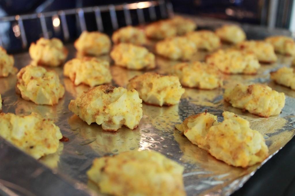 Cauliflower Tots barbecue side dish 5