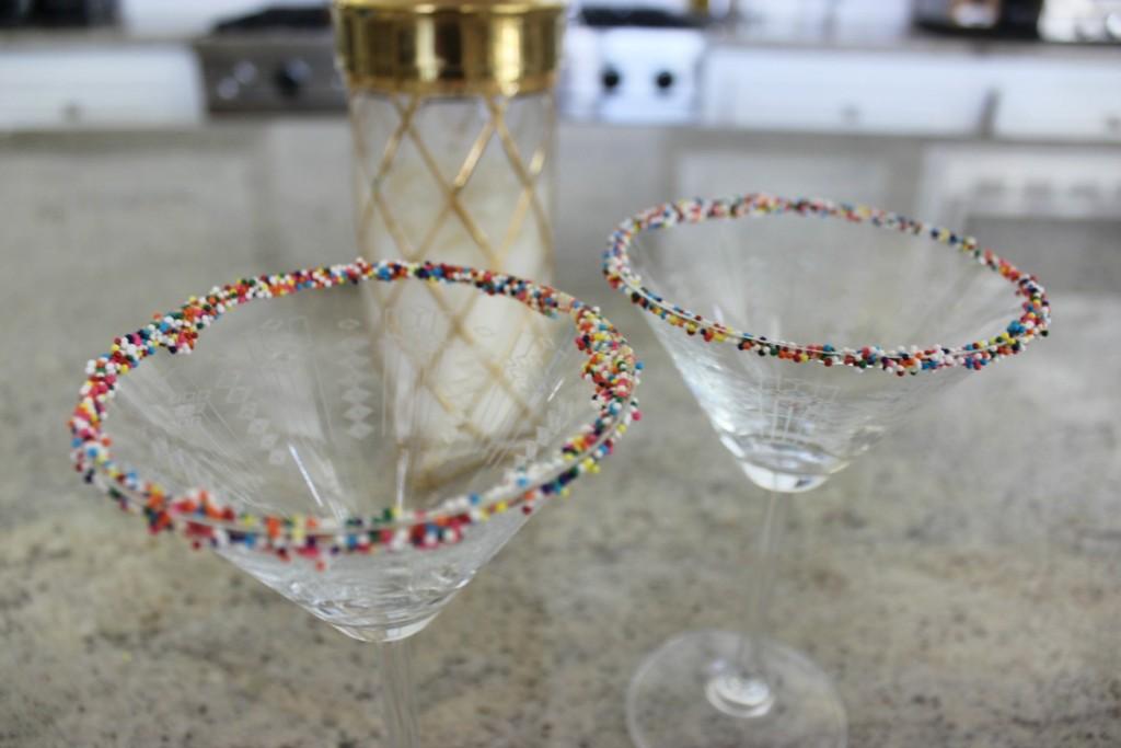 Fuzzy Friday Birthday Cake Martini 11