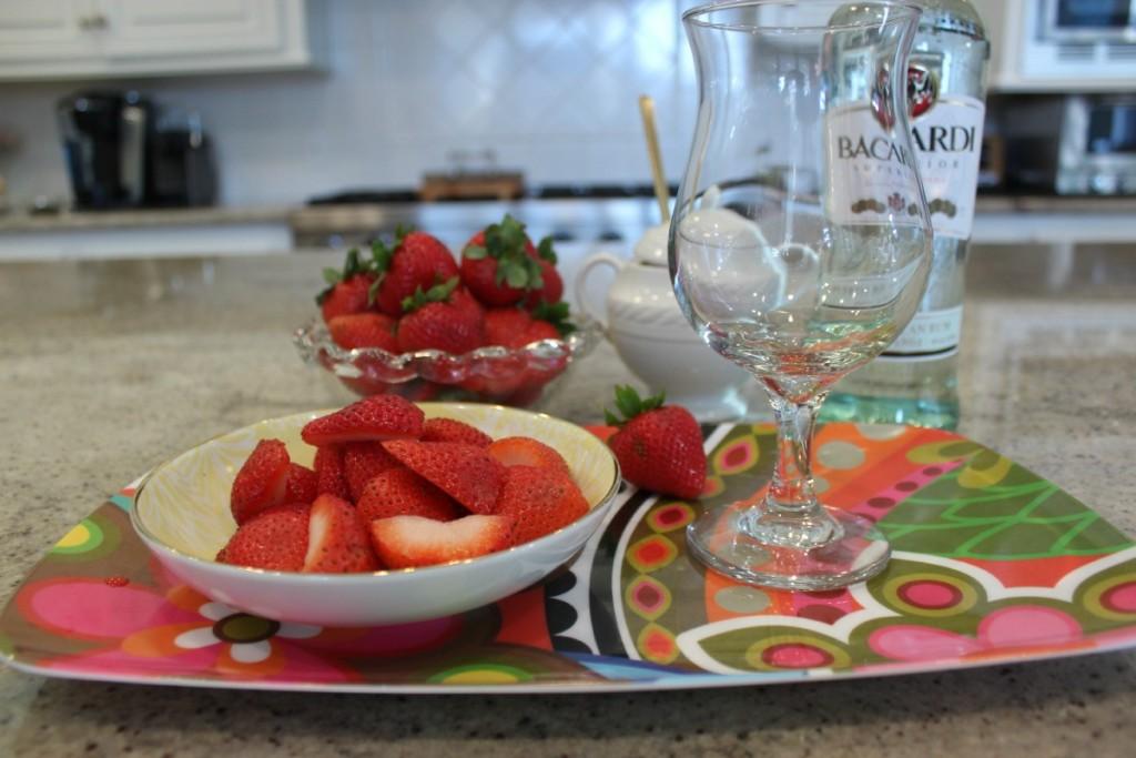 Healthy Strawberry Daiquiri