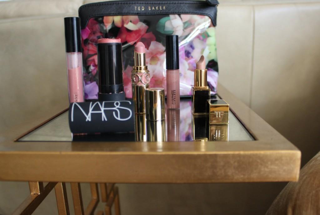 Ted Baker makeup bag lipsticks