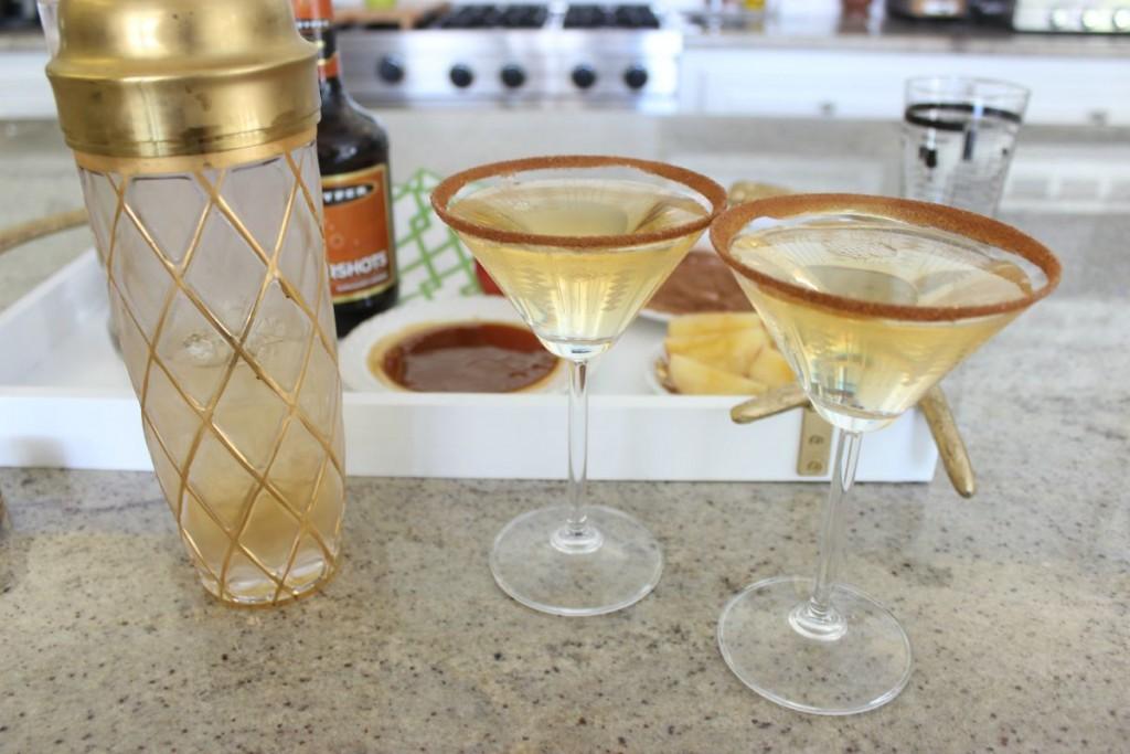 Caramel Apple Martini The OP Life 12