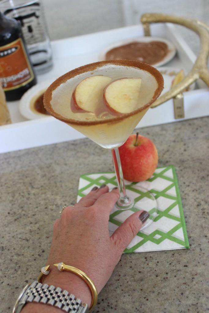 Caramel Apple Martini The OP Life 16