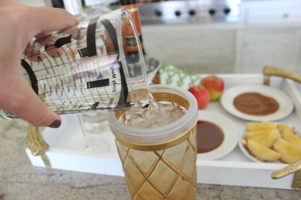 Caramel Apple Martini The OP Life 5