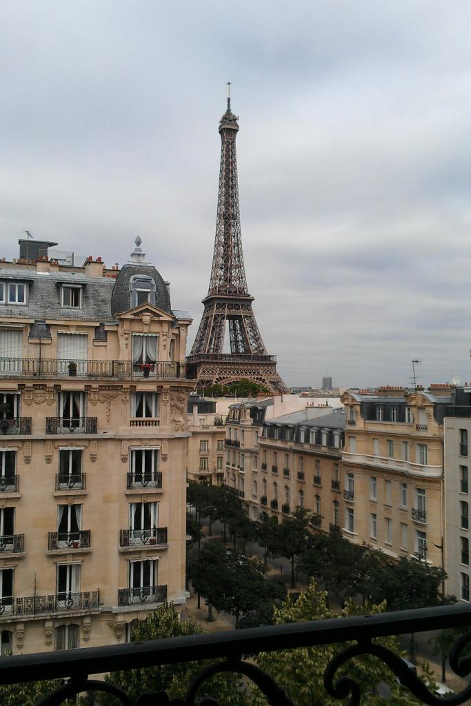 Eiffel tower view Paris Apartment The OP Life