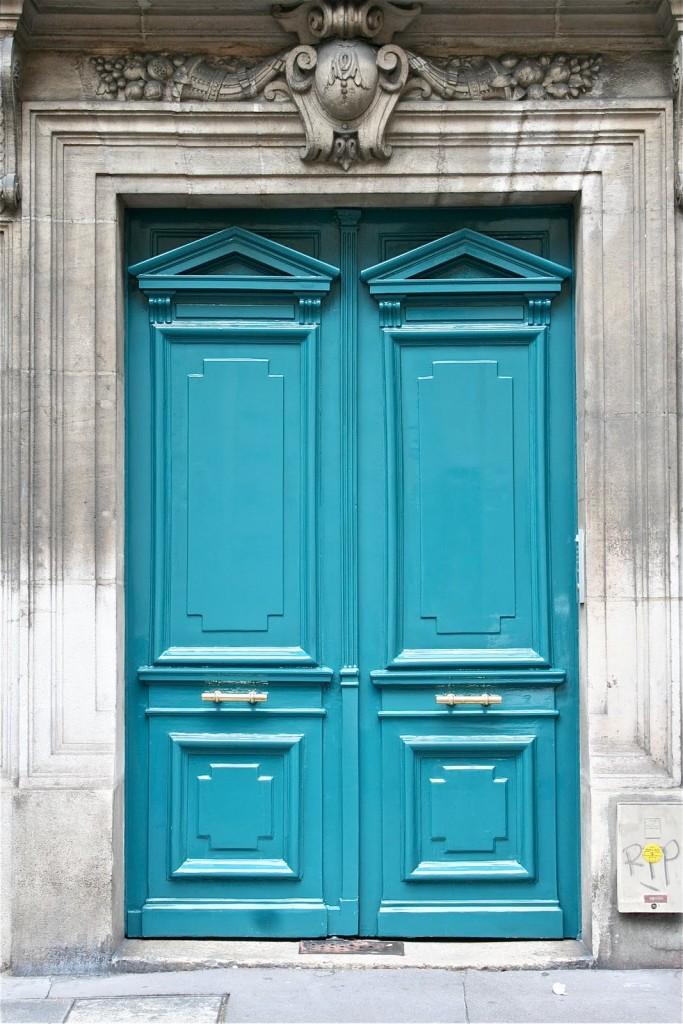 door-blue