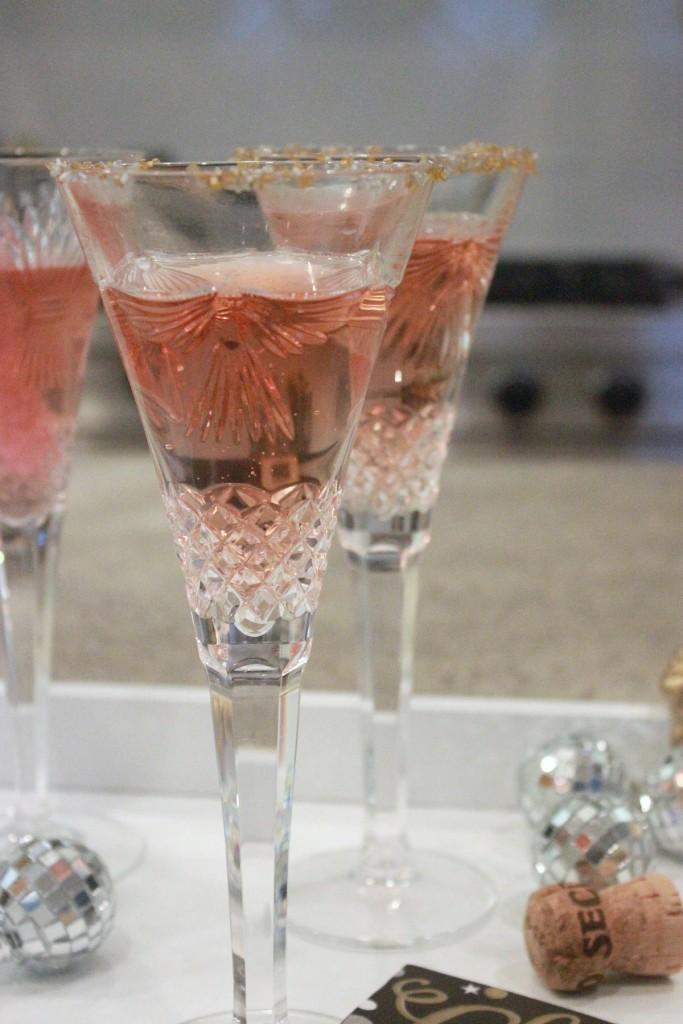 Fuzzy Friday Champagne 3 ways New Years 3