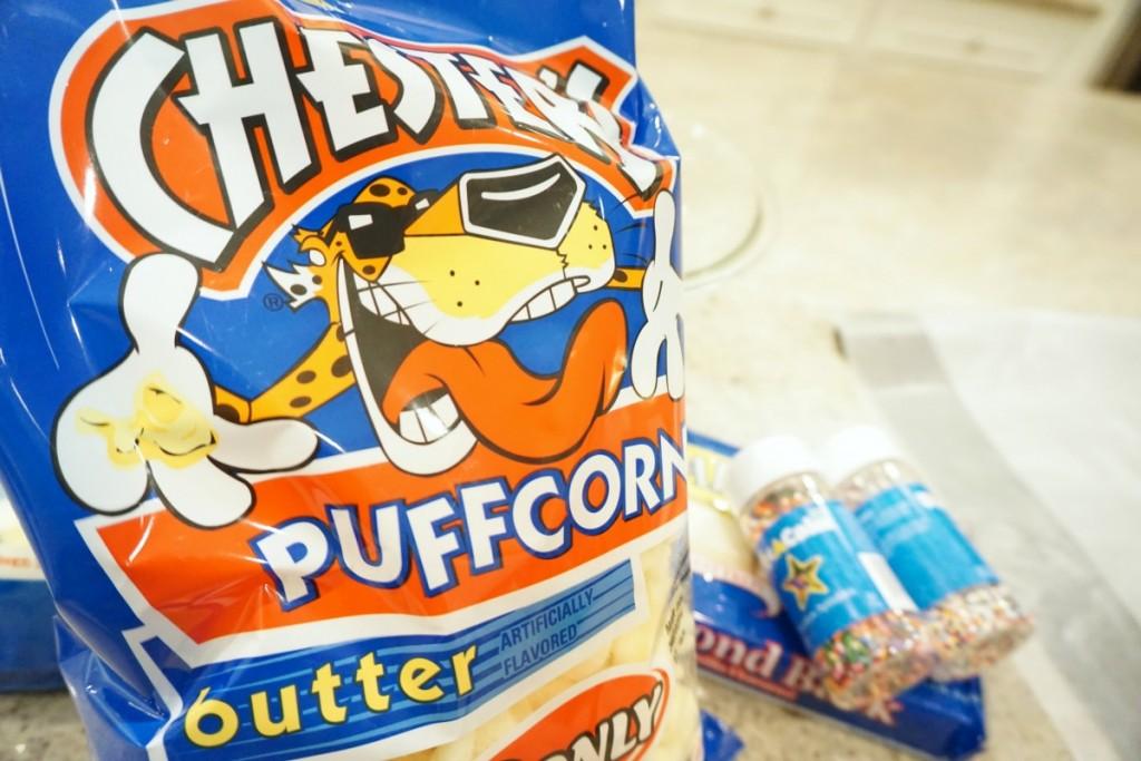 Almond Bark Puff Corn The OP Life