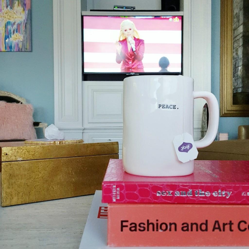 Tips to help you bounce back from Super bowl Food Hangover Yogi Green Tea Lady Gaga
