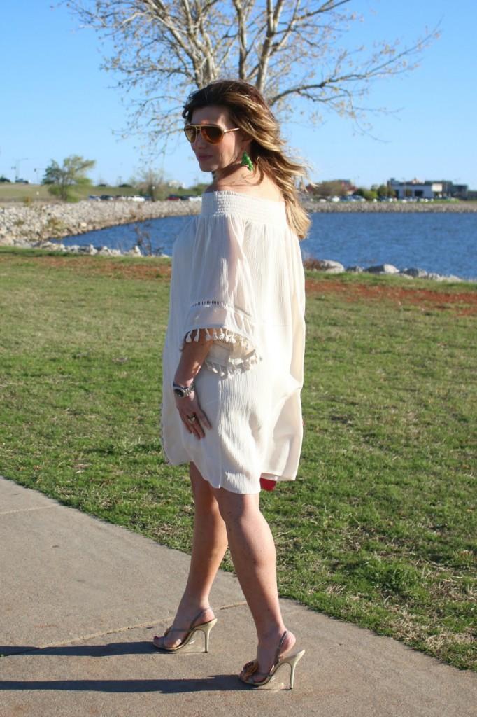 Cold Shoulder Dress Off The Shoulder Strapless Dress The OP Life 3
