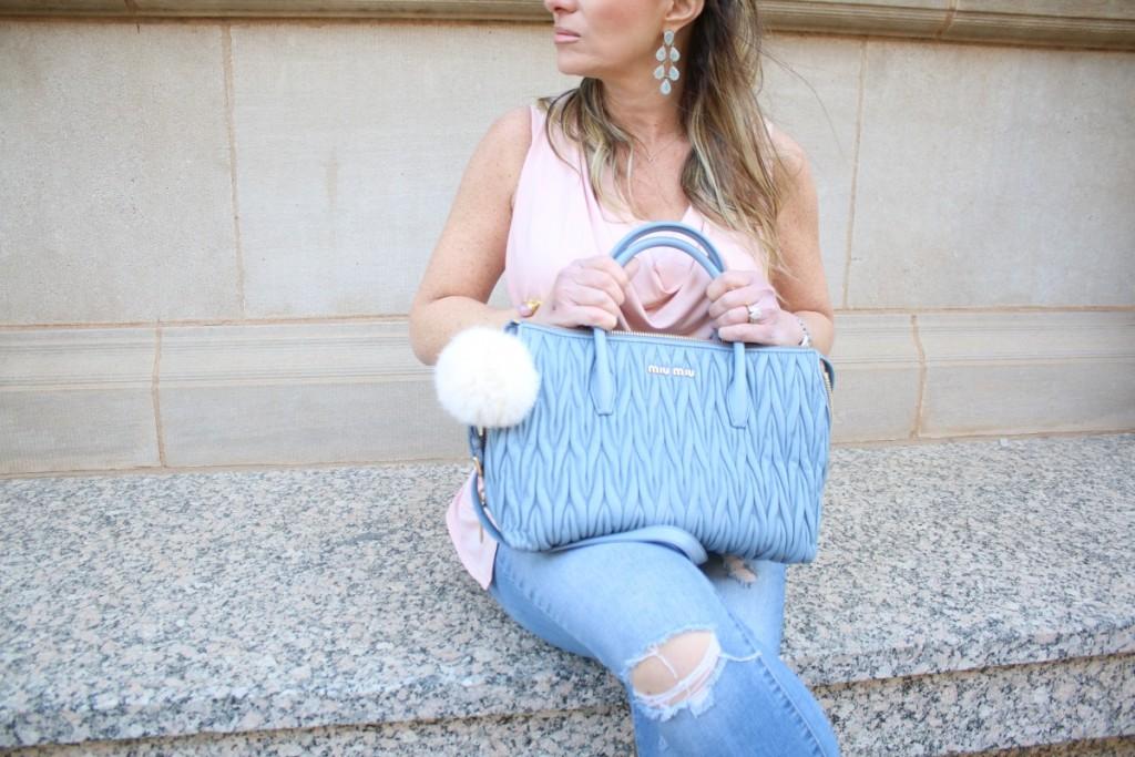 Strappy Heels MiuMiu Blue Bag Pantone 2016 TheOPLife.com 11