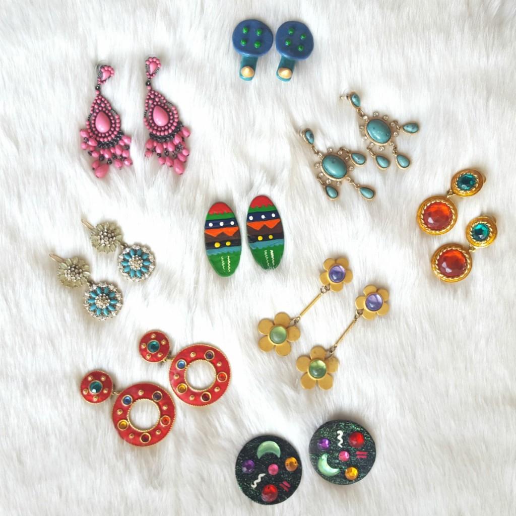 Statement Earrings TheOPLife.com retro