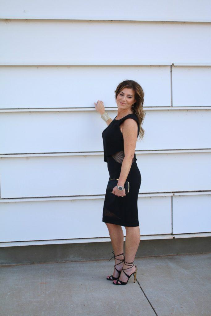 Not Just Any LBD Sachi & Babi Dress LV Clutch Jimmy Choo TheOPLife.com 8