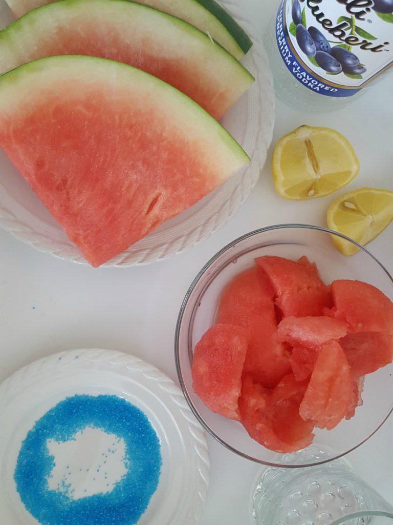 Fuzzy Friday Blueberry Watermelon Slushie TheOPLife