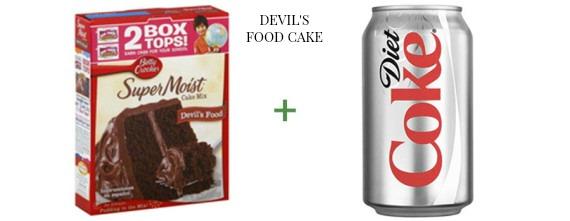 2 ingredient cake The OP Life Devil's Food Cake