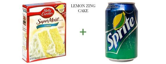 2 ingredient cake The OP Life Lemon Zing Cake